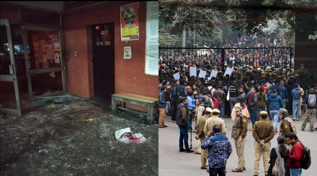 JNU Violence: জেএনইউ হামলায় ৯ জনকে তলব দিল্লি পুলিশের