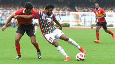 Mohun Bagan Vs East Bengal I-League 2019–20 Live Streaming Online: ডার্বিতে জশেবার গোলে এগিয়ে সবুজ-মেরুন, কোথায় দেখবেন লাইভ টেলিকাস্ট কিংবা বিনামূল্যে অনলাইনে কোথায় পাবেন ম্যাচের আপডেট? জানুন বিস্তারিত তথ্য