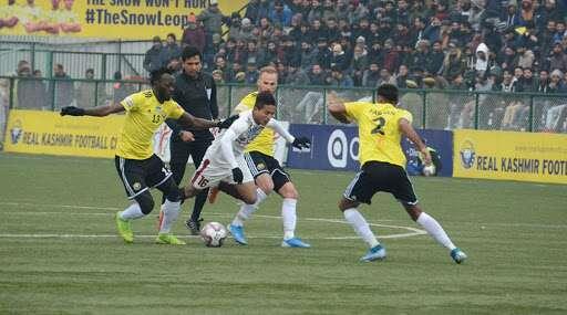 I-League 2019–20: রিয়েল কাশ্মীরকে ২-০ গোলে হারিয়ে আই লিগের শীর্ষে মোহনবাগান