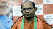 West Bengal Assembly Election 2021: বিতর্কিত মন্তব্যের জেরে এবার বিজেপির সায়ন্তন বসুকে নোটিস নির্বাচন কমিশনের