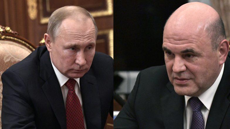 New Russian Prime Minister: রাশিয়ার প্রধানমন্ত্রী পদে মিখায়েল মিশুস্তিন, নাম ঘোষণা করলেন ভ্লাদিমির পুতিন