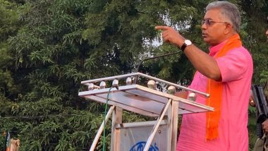 Dilip Ghosh: পাটুলিতে দিলীপ ঘোষকে 'NO NRC' পোস্টার দেখালেন কলেজ ছাত্রী!