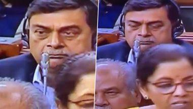 Budget 2020: নির্মলা সীতারমনের বাজেট বক্তৃতা শুনে চোখে ঘুম জড়িয়ে এল কেন্দ্রীয় মন্ত্রী আর কে সিং-এর! ঘুম কাটাতে কী করলেন মন্ত্রী? দেখুন ভিডিও