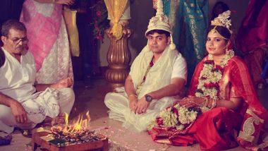 Kolkata: ক্যানসার আক্রান্ত বাবার শেষ ইচ্ছেতে হাসপাতালেই বসল মেয়ের বিয়ের আসর