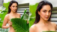 Kiara Advani Hot Photoshoot: ডাব্বু রত্নানির ক্যালেন্ডার শ্যুটে কচুপাতায় নিজেকে ঢাকলেন কিয়ারা আডবাণী