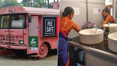 Washrooms On Wheels: গোলাপি বাসে 'ওয়াশরুমস অন হুইলস', মহিলাদের চিন্তা থেকে রেহাই