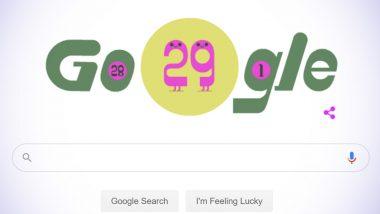 Google Doodle Celebrating Leap Year Day 2020: লিপ ইয়ার 2020 উদযাপনে গুগল ডুডল, জানুন এর বিস্তারিত ইতিহাস
