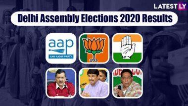 Delhi Assembly Elections 2020 Results: দিল্লি বিধানসভা নির্বাচনের ভোট গণনার দু'ঘণ্টা পার, ৫১ টি আসনে এগিয়ে আপ, বিজেপি ১৯
