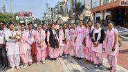 Donald Trump India Visit: তাজমহলের পথে ডোনাল্ড ট্রাম্প, স্বাগত জানাতে প্রস্তুত ২৫,০০০ পড়ুয়া