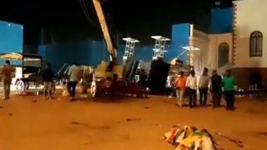 Accident At Kamal Haasan's Indian 2 Set: কমল হাসান অভিনীত ইন্ডিয়ান-২ ছবির সেটে ভয়াবহ দুর্ঘটনায় মৃত ৩, অলৌকিকভাব বাঁচলেন পরিচালক