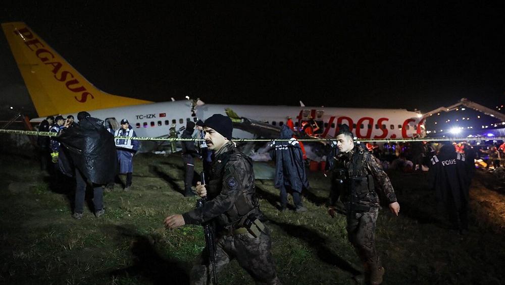 Istanbul Airport: ১৭৭ জন যাত্রী নিয়ে রানওয়েতে তিন টুকরো হয়ে গেল বিমান, ইস্তানবুলে চাঞ্চল্য