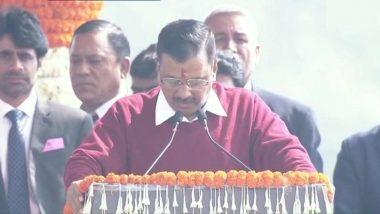 Arvind Kejriwal Sworn In as Delhi CM: তৃতীয়বার দিল্লির মুখ্যমন্ত্রী পদে শপথ নিলেন অরবিন্দ কেজরিওয়াল