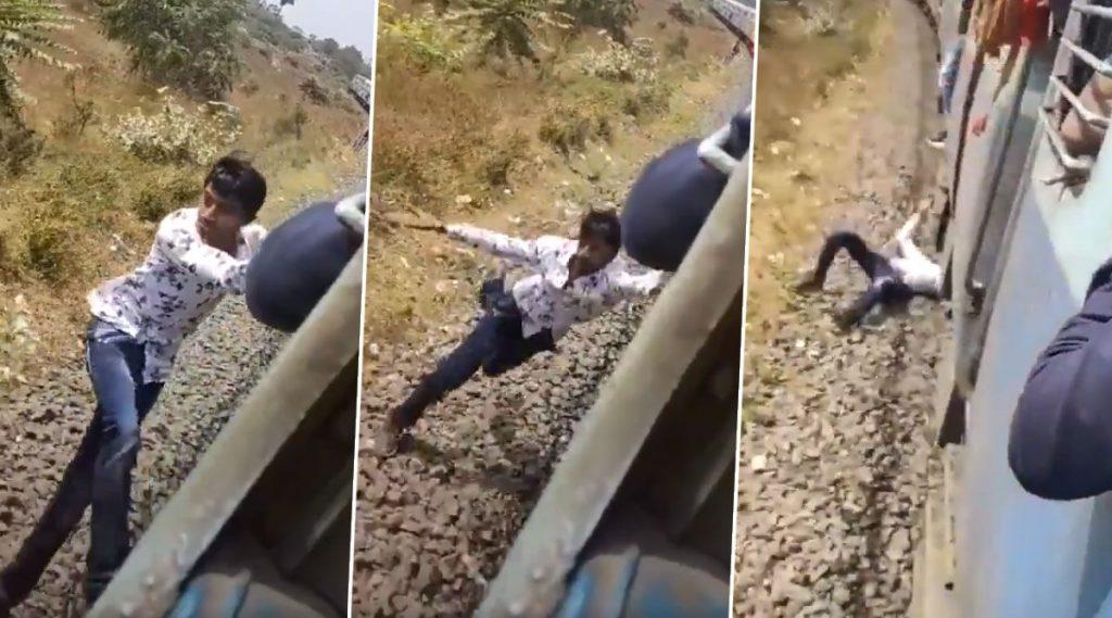 TikTok User Falls off Moving Train: টিকটক বানাতে গিয়ে চলন্ত ট্রেনের দরজা থেকে পিছলে গেল পা, ভয়ঙ্কর সেই ভিডিও পোস্ট করলেন পীযূষ গোয়েল