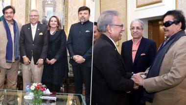 Shatrughan Sinha Meets Pakistan President Arif Alvi: পাকিস্তানের প্রেসিডেন্ট আরিফ আলভির সঙ্গে সাক্ষাৎ শত্রুঘ্ন সিনহার, আলোচনায় কাশ্মীর প্রসঙ্গ