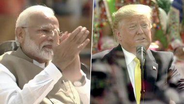 Namaste Trump: মোতেরার মঞ্চ থেকে 'নমস্তে ট্রাম্প' বললেন প্রধানমন্ত্রী নরেন্দ্র মোদি