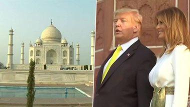 Donald Trump India Visit: মেলানিয়াকে সঙ্গে নিয়ে তাজমহলে পৌঁছলেন মার্কিন প্রেসিডেন্ট ডোনাল্ড ট্রাম্প
