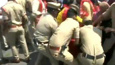 Police Detained CPI members: দিল্লির হিংসায় স্বরাষ্ট্রমন্ত্রীর পদত্যাগের দাবি তুলে কুশপুতুল পোড়াতে গিয়ে আটক সিপিআই নেতা