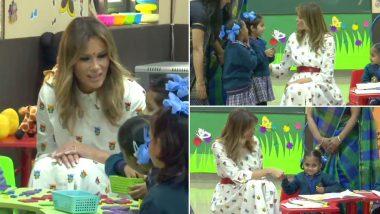 Melania Trump Attends Happiness Class: দিল্লির সরকারি স্কুলের খুশি ক্লাসে এলেন মেলানিয়া ট্রাম্প, দেখুন ছবি ও ভিডিও