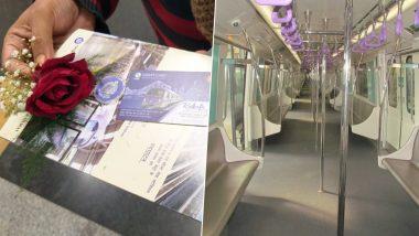 East-West Metro: টিকিটের সঙ্গে লাল গোলাপ, ভালোবাসার দিনে যাত্রীদের উপহার ইস্ট-ওয়েস্ট মেট্রোর