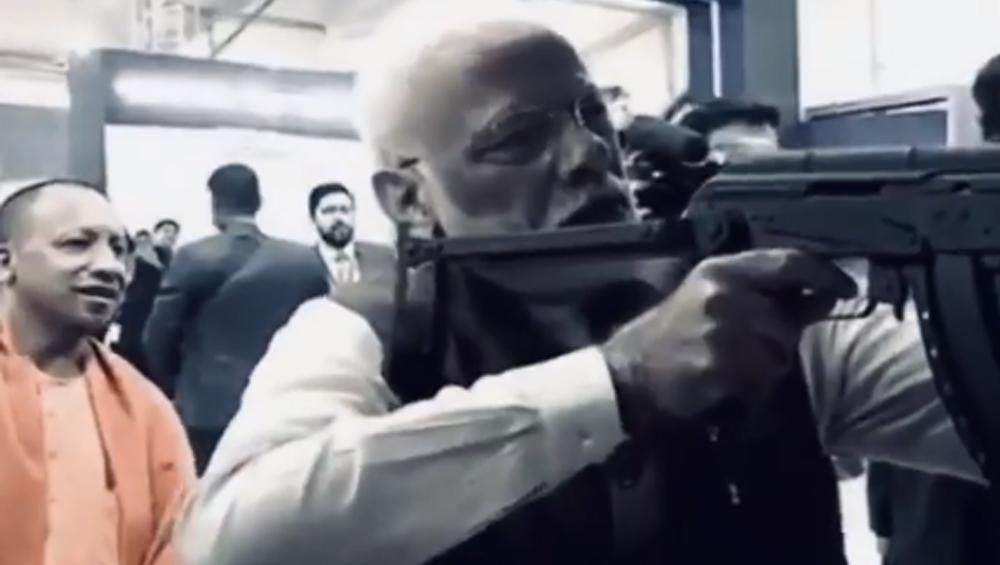PM Narendra Modi: অ্যাসল্ট রাইফেল বাগিয়ে ফায়ারিং রেঞ্জে নরেন্দ্র মোদি, ভাইরাল ভিডিও