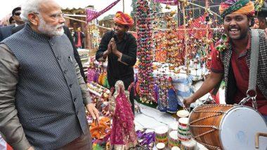Prime Minister Narendra Modi: দিল্লির হুনার হাট পরিদর্শনে এসে চা কিনে খেলেন প্রধানমন্ত্রী, মোদিকে দেখতে উপচে পড়ল ভিড়