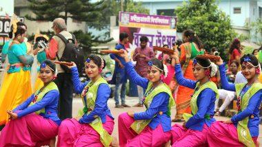 Rabindra Bharati University Basanta Utsav 2020: আবিরের রং, নাচে গানে রবীন্দ্রভারতী বিশ্ববিদ্যালয়ের বসন্ত উৎসব উদযাপন