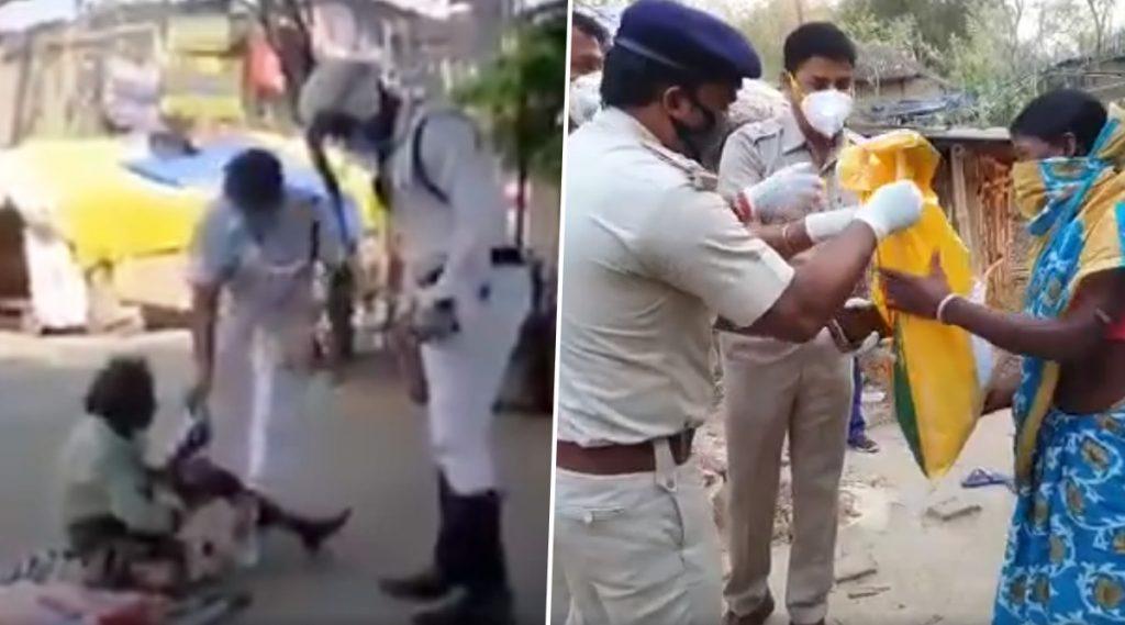 Kolkata Police: লকডাউন শহরে ক্ষুধার্তের কাছে পুলিশই আজ 'অন্নদাতা'