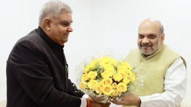 Governor Jagdeep Dhankhar: 'রাজ্যে আইন-শৃঙ্খলা পরিস্থিতি উদ্বেগজনক', অমিত শাহের সঙ্গে দেখা করে বললেন রাজ্যপাল