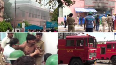 Dum Dum Central Jail: গতকালের পর আজও রণক্ষেত্র দমদম সেন্ট্রাল জেল, জ্বলল আগুন, চলল গুলি