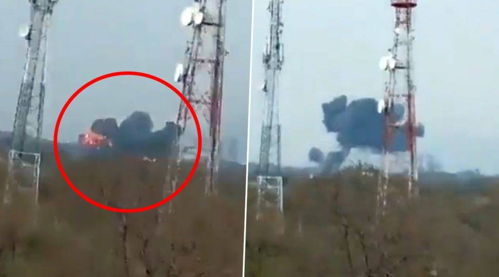 Pakistan Air Force's F-16 Crashes: ভেঙে পড়ল পাকিস্তান বিমানবাহিনীর F-16 যুদ্ধবিমান