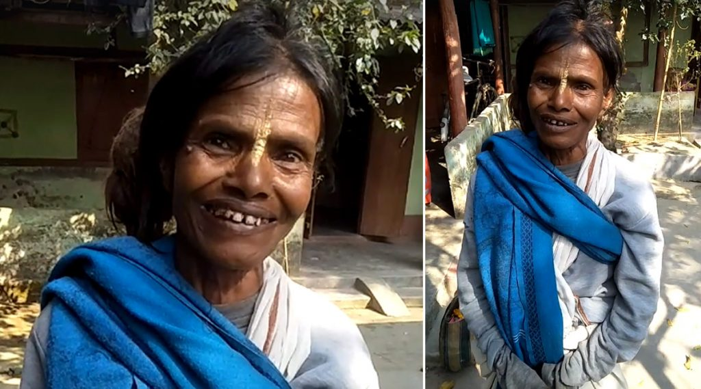 Ranu Mondal: কীর্তনের আঙ্গিকে 'তেরি মেরি কাহানি' গাইছেন 'রানু মণ্ডলের বোন'!