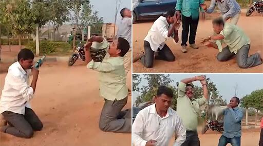 Telangana: প্রকাশ্যে বিয়ার খেয়ে নাগিন ড্যান্স করছেন ছয় পুলিশকর্মী!