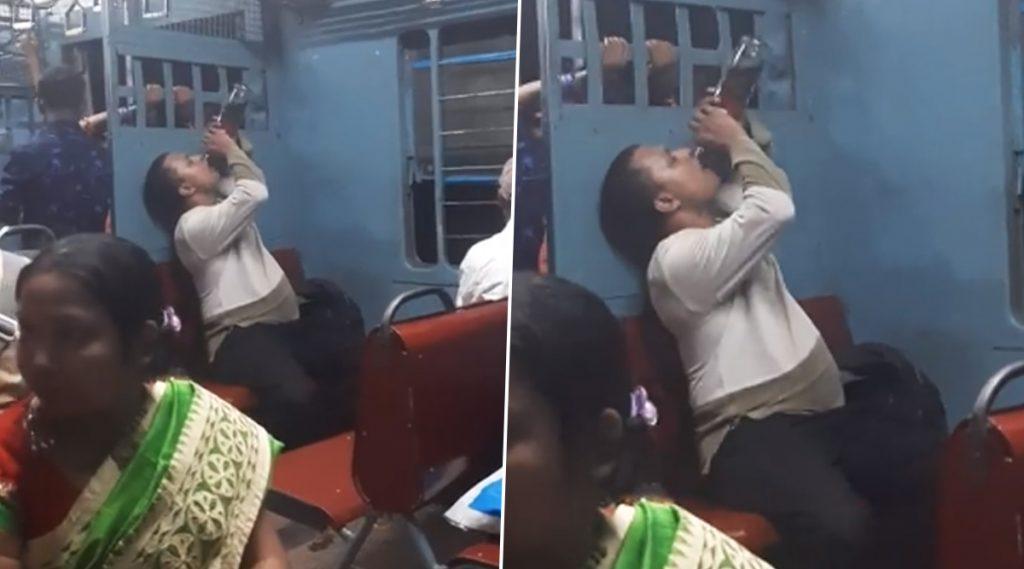 Kolkata Shocker: লোকাল ট্রেনে প্রকাশ্যে মদ্যপান! ভিডিয়ো ভাইরাল