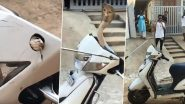 Viral: স্কুটির ভিতর থেকে ফণা তুলল জলজ্যান্ত সাপ, দেখুন সেই রোমহর্ষক ভিডিও