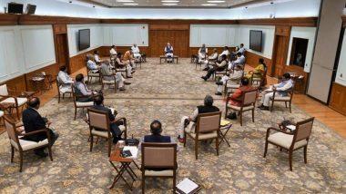 Social Distancing Seen At Union Cabinet Meeting: কথায় নয়, কাজেও দেখালেন নরেন্দ্র মোদি, সামাজিক দূরত্ব বজায় রেখে বৈঠক কেন্দ্রীয় মন্ত্রিসভার