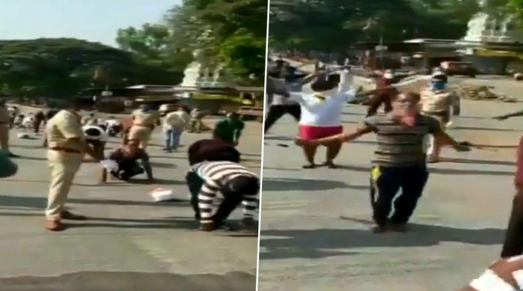 Maharashtra: লকডাউন ভেঙে রাস্তায়, শাস্তি হিসেবে মর্নিং ওয়াক, যোগা করাল পুলিশ; ভাইরাল ভিডিয়ো