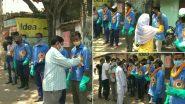 Asansol Felicitate Sanitation Workers: করোনা মহামারীর রুখতে নিরন্তর পরিশ্রম করা পরিবেশ পরিচ্ছনতা সাফাইকর্মীদের সংবর্ধনা আসানসোলে
