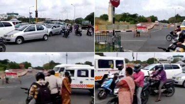 Chennai Shame: লকডাউনের বাজারে ভিআইপি কনভয়কে রাস্তা ছাড়তে অ্যাম্বুল্যান্সের পথ আটকালো পুলিশ, ভাইরাল ভিডিও