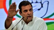 Rahul Gandhi: চিনের সঙ্গে সীমান্ত সমস্যা নিয়ে কেন্দ্র নীরব কেন? দেশবাসীর হয়ে প্রশ্ন রাহুল গান্ধীর