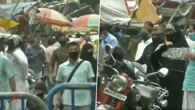 Kolkata: সোশ্যাল ডিসট্যান্সিংকে থোড়াই কেয়ার, হটস্পট রাজাবাজারে উপচে পড়ছে ভিড়