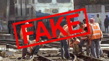 Fact Check: লকডাউনে ১৩ লক্ষ কর্মীর বেতন কাটতে চলেছে রেল মন্ত্রক? ফ্যাক্ট চেকের পর পিআইবি জানালো ভুয়ো খবর