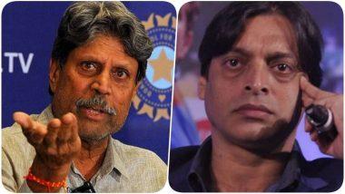 Kapil Dev Rejects Shoaib Akhtar's Idea of India vs Pakistan Series: 'ভারতের টাকার দরকার নেই, ক্রিকেটারদের জীবনের ঝুঁকি নেওয়া যায় না', শোয়েব আখতারের প্রস্তাব ওড়ালেন কপিল দেব
