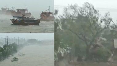 Cyclone Amphan: আম্ফান ঘূর্ণিঝড়ের প্রভাবে মুষলধারে বৃষ্টি, পাথরপ্রতিমায় নদীবাঁধে ধস