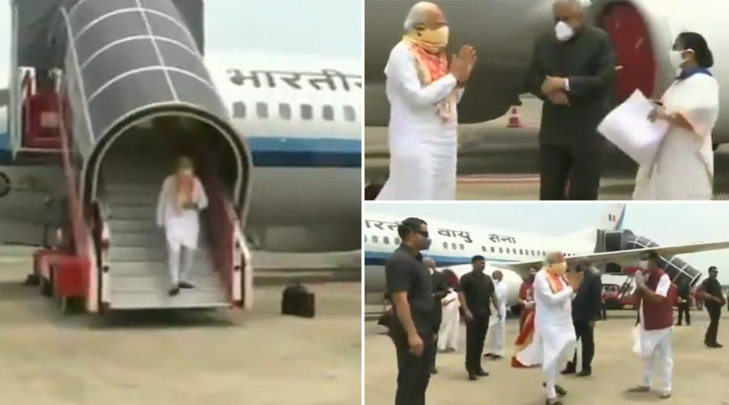 PM Modi In Kolkata: কাঁটায় কাঁটায় ১১.২০ মিনিট, মুখ্যমন্ত্রী ও রাজ্যপালকে সঙ্গে নিয়ে আম্ফান বিধ্বস্ত এলাকার পরিদর্শনে প্রধানমন্ত্রী