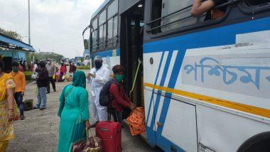 Shramik Special Trains: রাজস্থান থেকে রাজ্যে ফিরলেন প্রায় ১,২০০ পরিযায়ী শ্রমিক