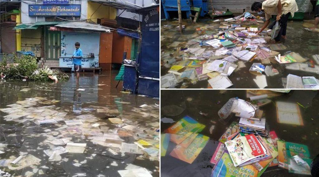 Amphan Cyclone Hits College Street: আম্ফানের তাণ্ডবে ভাসছে বইপাড়া, লক্ষ লক্ষ টাকার বই নষ্ট, মুখ্যমন্ত্রী এবং প্রধানমন্ত্রীর কাছে সাহায্যের আর্জি গিল্ডের