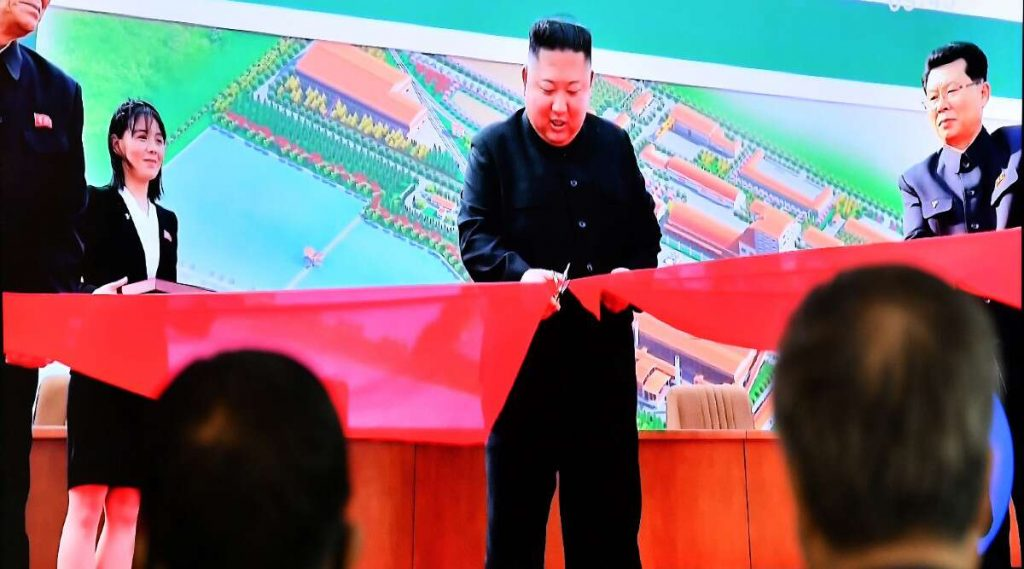 Kim Jong-un Attends Ribbon-Cutting Ceremony: ২০ দিন পর প্রকাশ্যে, কারখানার উদ্বোধনের ফিতে কাটতে দেখা গেল কিম জং উনকে