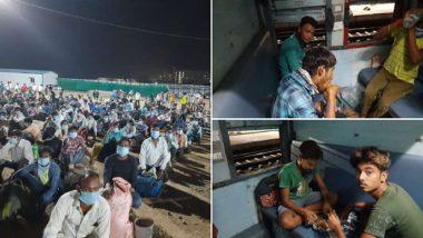 First Train Ran Amid Lockdown: তেলাঙ্গানার লিঙ্গামপল্লি থেকে ঝাড়খণ্ডের হাটিয়া, পরিযায়ী শ্রমিকদের ফেরাতে চলল ট্রেন