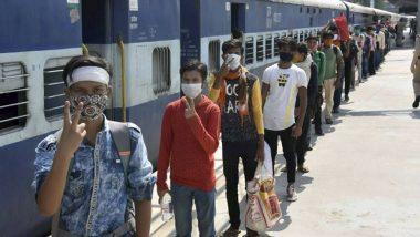 Shramik Special Trains: স্পেশ্যাল ট্রেনে সোমবার থেকে ৯ পরিযায়ী শ্রমিকের মৃত্যু হয়েছে, জানালো রেল