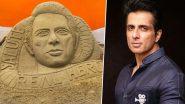 Sonu Sood Gets Sand Art Tribute: স্যান্ড আর্টে 'মসীহা' সোনু সুদকে সম্মান জানালেন অনুরাগীরা (দেখুন ছবি)